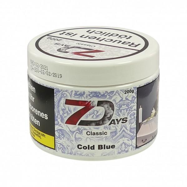 7 Days Tabak 200g - Cold Blue