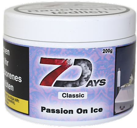 7 Days Tabak 200g - Passion On Ice
