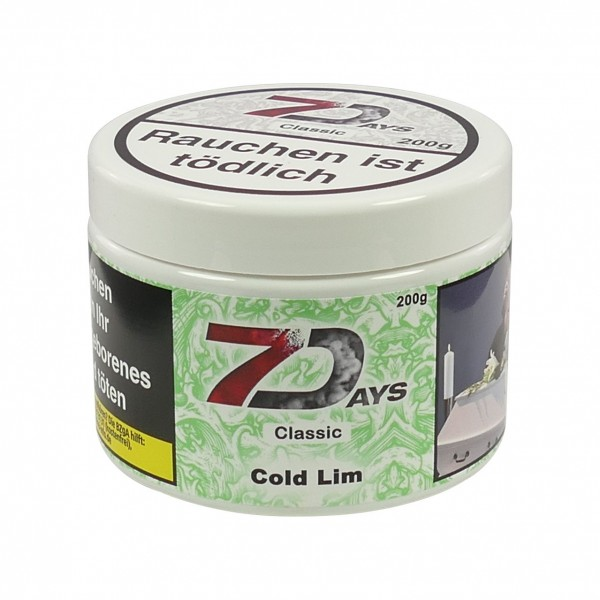 7 Days Tabak 200g - Cold Lim