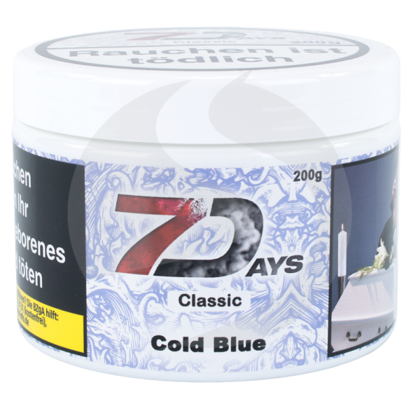 7 Days Tabak 200g - Cold Blue