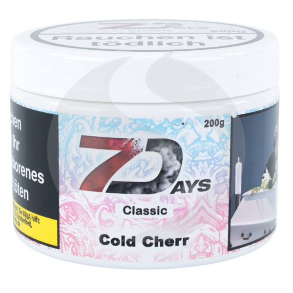 7 Days Tabak 200 g - Cold Cherr
