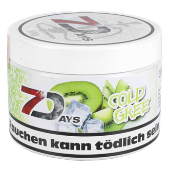 7 Days Tabak 200g - Cold Gree