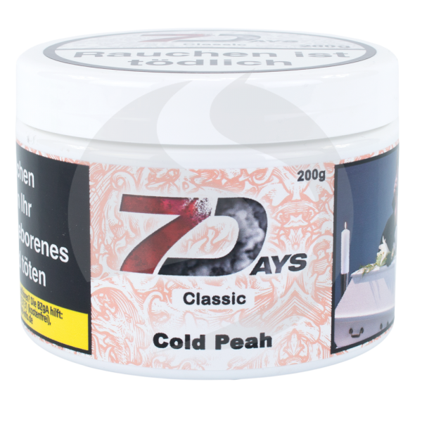 7 Days Tabak 200 g - Cold Peach