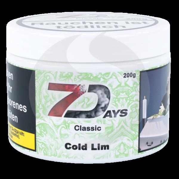 7 Days Tabak 200g - Cold Lim
