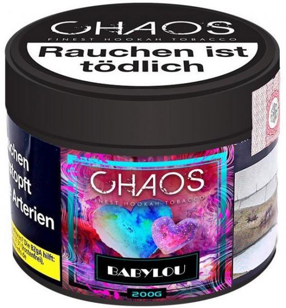 Chaos Tabak 200g - Babylou